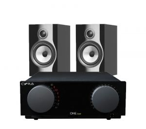 Cyrus One Cast Amplifier with Bowers & Wilkins 706 S2 Standmount Speakers