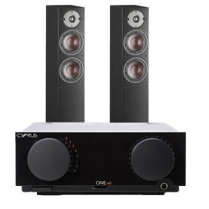 Cyrus One HD Integrated Amplifier with Dali Oberon 5 Floorstanding Speakers