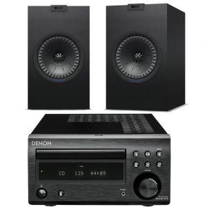 Denon D-M41DAB Hi-Fi System with KEF Q150 Speakers
