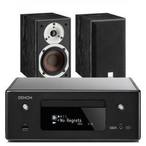 Denon CEOL N11DAB  Hi-Fi-Network CD Receiver with Dali Spektor 1 Bookshelf Speaker