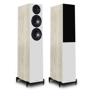 OB-Wharfedale Diamond 12.3 Floorstanding Speakers - Light Oak
