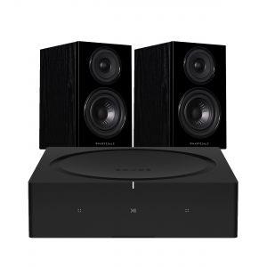 Sonos Amp with Wharfedale Diamond 12.1 Bookshelf Speakers