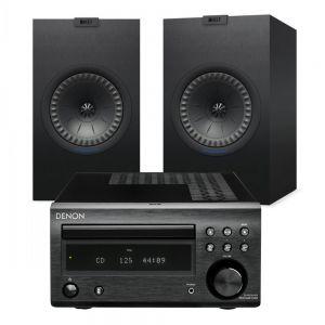Denon D-M41DAB Hi-Fi System with KEF Q350 Speakers