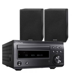 Denon D-M41DAB Hi-Fi System with Denon SCN-10 Speakers