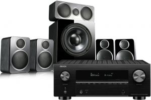 Denon AVC-X3700H Amplifier with Wharfedale DX-2 5.1 Speaker Package