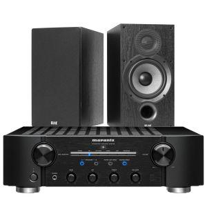 Marantz PM8006 HiFi Amplifier with Elac Debut B6.2 Bookshelf Speakers