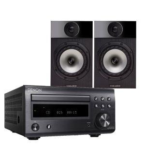Denon D-M41DAB Hi-Fi System with Fyne Audio F300 Bookshelf Speakers