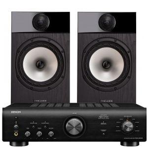 Denon PMA-600NE Integrated Amplifier with Fyne Audio F301 Bookshelf Speakers