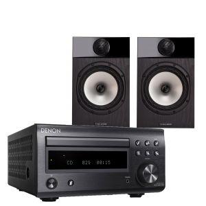 Denon D-M41DAB Hi-Fi System with Fyne Audio F301 Bookshelf Speakers