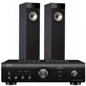 Denon PMA-600NE Integrated Amplifier with Fyne Audio F302 Floorstanding Speakers