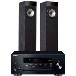 Yamaha CRX-N470D with Fyne Audio F302 Floorstanding Speakers