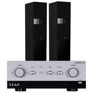 LEAK Stereo 130 Integrated Amplifier with Fyne Audio F303 Floorstanding Speakers