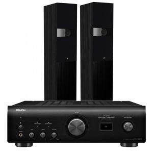 Denon PMA-1600NE Integrated Amplifier with Fyne Audio F303 Floorstanding Speakers