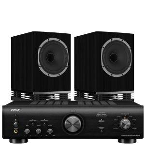 Denon PMA-600NE Integrated Amplifier with Fyne Audio F500 Bookshelf Speakers