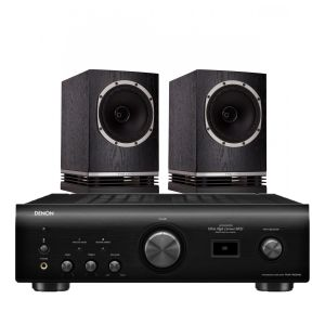 Denon PMA-1600NE Integrated Amplifier with Fyne Audio F500 Bookshelf Speakers