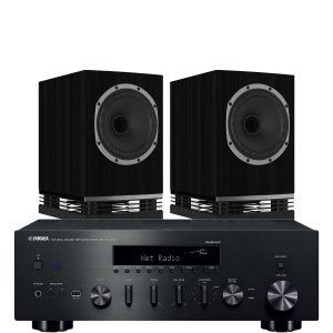 Yamaha R-N602 with Fyne Audio F500 Bookshelf Speakers