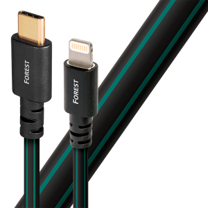 AudioQuest Forest Lightning to USB Type C Plug Cable
