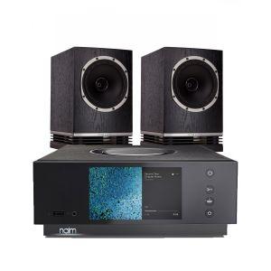 Naim Atom HDMI with Fyne Audio F500 Bookshelf Speakers