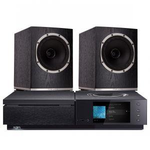 Naim Uniti Star All-In-One Player with Fyne Audio F500 Bookshelf Speakers