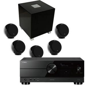 Yamaha RX-A2A AV Receiver with Gallo Acoustics Micro AV Pack