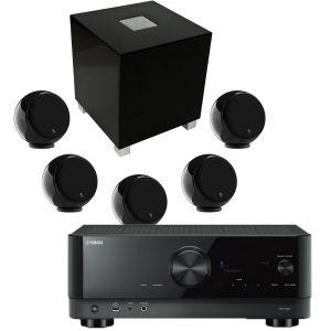 Yamaha RX-V4A AV Receiver with Gallo Acoustics Micro AV Pack