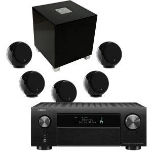 Denon AVC-X4700H AV Amplifier with Gallo Acoustics Micro AV Pack