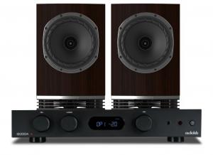 Audiolab 6000A Amplifier with Fyne Audio F500 Bookshelf Speakers