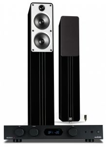 Audiolab 6000A Amplifier with Q Acoustics Concept 40 Floorstanding Speakers