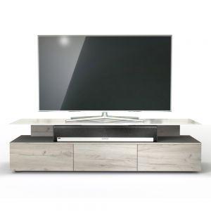 Open Box - Spectral Just Racks JRM1650 TV Cabinet - Natural Oak