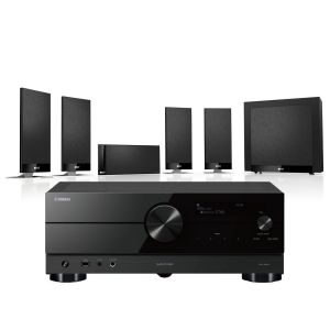Yamaha RX-A2A AV Receiver with KEF T105 System 5.1 Speaker Pack