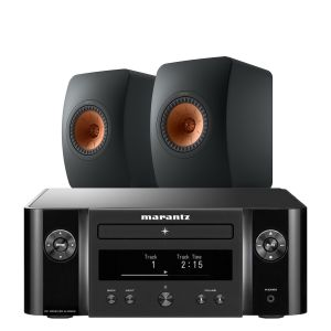 Marantz Melody X. M-CR612 Music System with KEF LS50 Meta Loudspeakers