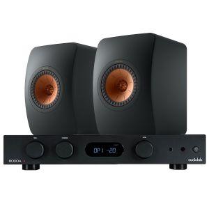 Audiolab 6000A Amplifier with KEF LS50 Meta Standmount Loudspeakers