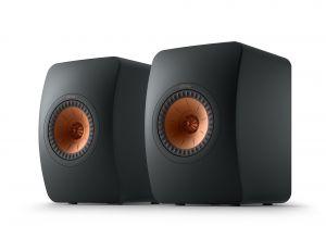 Open Box - KEF LS50 Meta Loudspeakers - Carbon Black