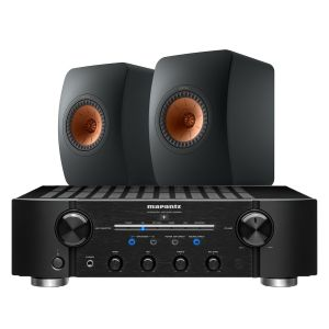 Marantz PM8006 HiFi Amplifier with KEF LS50 Meta Loudspeakers