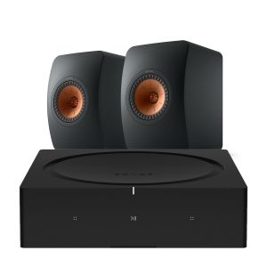 Sonos Amp with KEF LS50 Meta Standmount Loudspeakers