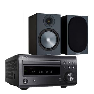 Denon D-M41DAB Hi-Fi System with Monitor Audio Bronze 100 Speakers (6th Gen)