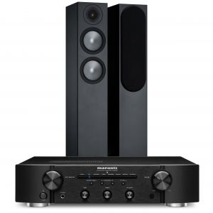 Marantz PM6007 Integrated Amplifier with Monitor Audio Bronze 200 Speakers (6th Gen)