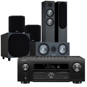 Denon AVC-X6700H 11.2 AV Amplifier with Monitor Audio Bronze 200 AV Speaker Pack