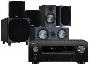 Denon AVR-X2700H AV Receiver with Monitor Audio Bronze 50 AV Speaker Pack