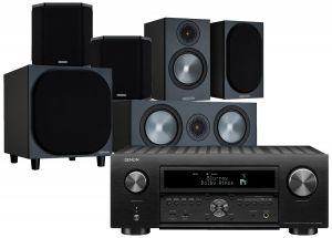 Denon AVC-X6700H 11.2 AV Amplifier with Monitor Audio Bronze 50 AV Speaker Pack