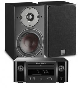 Marantz Melody X. M-CR612 Music System with Dali Oberon 3 Bookshelf Speakers