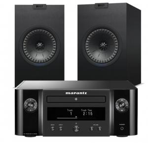 Marantz Melody M-CR412 Music System with KEF Q150 Bookshelf Speakers