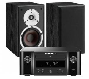 Marantz Melody X. M-CR612 Music System with Dali Spektor 2 Bookshelf Speaker