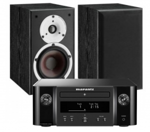 Marantz Melody M-CR412 Music System with Dali Spektor 2 Bookshelf Speaker