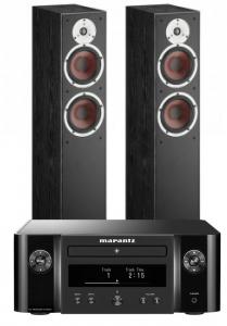 Marantz Melody X. M-CR612 Music System with Dali Spektor 6 Floorstanding Speakers
