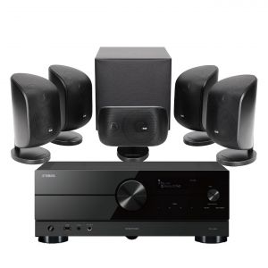 Yamaha RX-A2A AV Receiver with Bowers & Wilkins MT-50 Home Theatre System