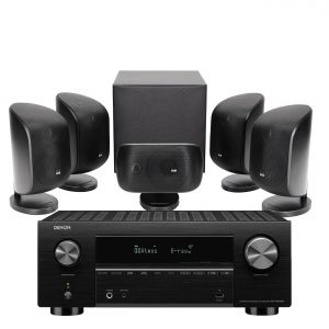 Denon AVC-X3700H Amplifier with Bowers & Wilkins MT-50 Home Theatre System