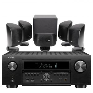 Denon AVC-X6700H 11.2 AV Amplifier with Bowers & Wilkins MT-50 Home Theatre System