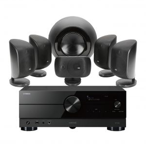 Yamaha RX-A2A AV Receiver with Bowers & Wilkins MT-60D Home Theatre System