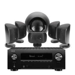 Denon AVR-X2700H AV Receiver with Bowers & Wilkins MT-60D Home Theatre System